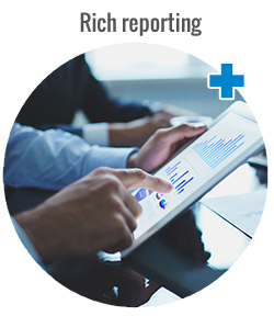 Rich reporting - NetTrace asset management